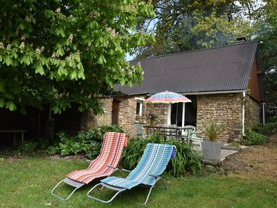 Photo for Lovely holiday home with garden, terrace and fantastic view in Guilberville