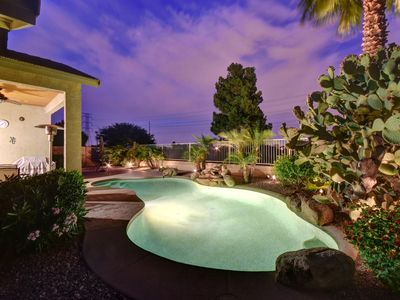 Photo for **NEW ON VRBO! Relax in sunny AZ on the golf course and private pool