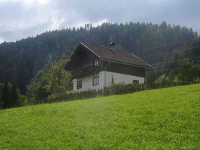 Photo for Simple chalet, solitary located amid forests and meadows, with views of surrounding mountains. The c