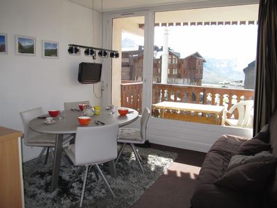 Photo for Luxury apartment, 36 m², south-west, closed to slopes, great view on 3 valleys