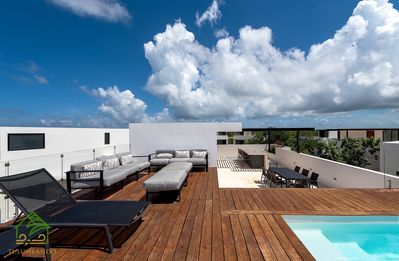 Photo for ✪ Nº 1 in TULUM☀Central Park Private Pool & Roof✪