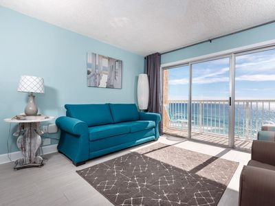 Photo for 7th Floor Cozy Condo w/ Steps From The Beach, Convenient To Shopping