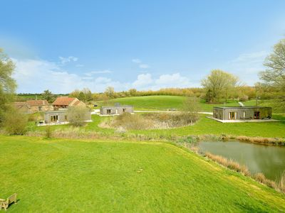 Photo for By The Byre Holiday Lodges near to Longleat Safari Park and Bath
