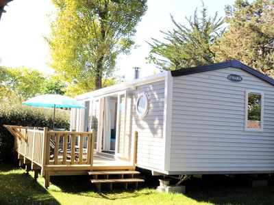Photo for Camping Le Raguenès Plage **** - Mobile Home Premium 3 Rooms 6 People