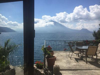 Photo for Beautiful Lake Atitlan Villa Nestled on its own 1 Acre Lake Front Private Cove