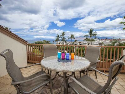 Photo for Ocean View two Bedroom loft condo at Maui Kamaole, Sleeps 4. H-212