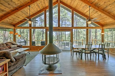 Reconnect with mother nature at this secluded vacation rental cabin in Prescott!