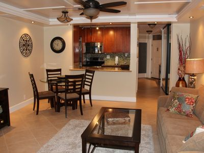 Photo for Upscale, Remodeled,  Fully Loaded with Amenities,  and just steps to the beach !