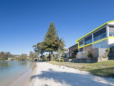 Photo for 'Sunrise Waters', 2/63 Soldiers Point Road - stunning waterfront property