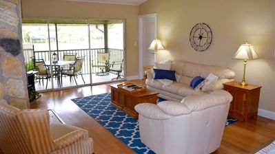 Photo for Forest Country Club 2 Bed-2 Bath Condo with Golf Course & Water View