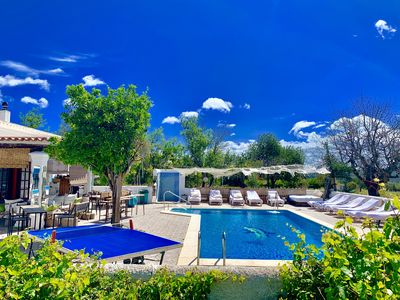 Photo for beautiful villa with pool  quietly set in the countryside ibiza clear  view