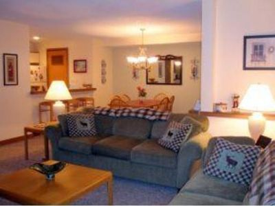 Photo for Slopeside 2BR/2Ba at Seasons Mt Snow; Just Steps to the Sports Center