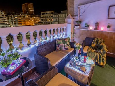 Photo for Beautiful spacious renovated penthouse. Amazing terrace