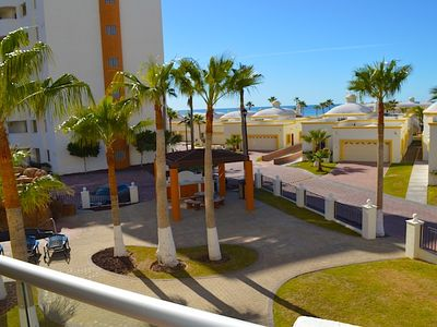 Photo for Beautiful 1 Bedroom Condo on the Sea of Cortez at Las Palmas Resort D-203B