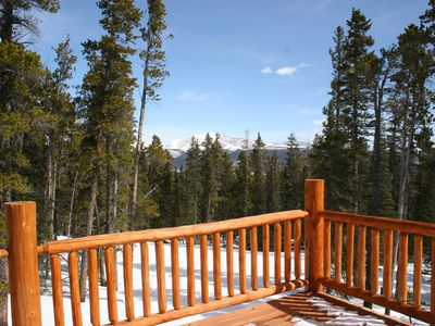 Photo for Spectacular Views In Mountain Home Retreat 30 Min From Breckenridge!