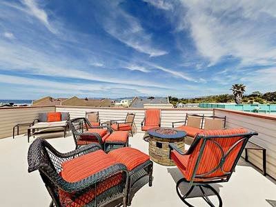 Photo for 3BR with Rooftop Deck & Ocean View – 1 Block to Beach