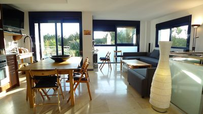 Photo for Es Pujols: apartment/ flat - 5 rooms - 6/8 persons