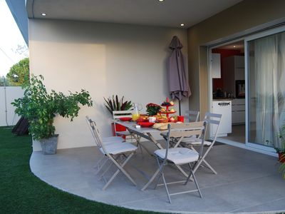 Photo for HOUSE with Jacuzzi 200 m beach GRAY CAP D'AGDE