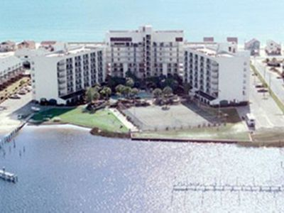 Photo for The Best of Both Worlds - Gulf on one side and the Lagoon on the other