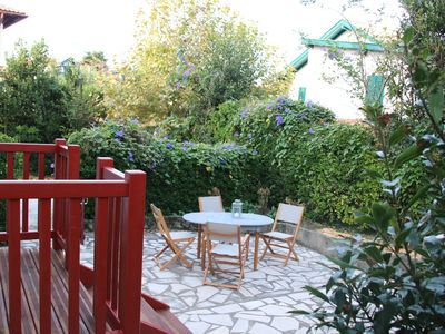 Photo for Biarritz │Lovely apartment · Garden floor · Parking · 2 mn from the beach