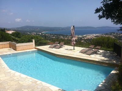 Photo for Villa Moana 10 people 5 bedrooms pool exceptional view air conditioning,