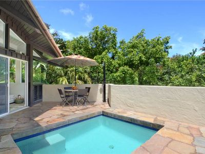 Photo for Secluded, Romantic Getaway..Private Dipping Pool..Close to Beach & Activities !
