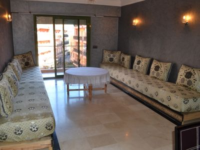 Photo for 3BR Apartment Vacation Rental in Marrakech, Marrakech-Safi