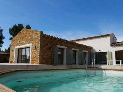 Photo for RARE: luxury villa in pine forest near sea (2km) - La Ciotat