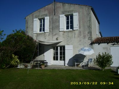 Photo for 3 guest rooms 10 minutes from La Rochelle in beautiful old house