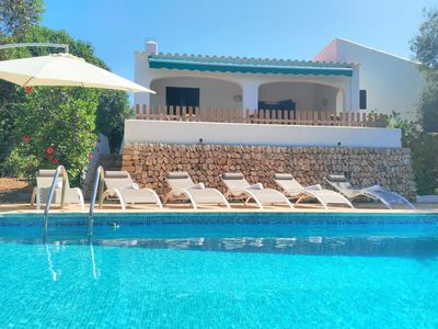Photo for Villa Ullastres - private pool, beach, free AC and WiFi