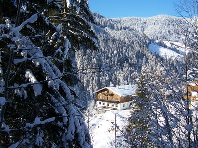 Photo for Cottage Almhof, hut, skiing area, Wagrain, Ski Amade,Wifi Internet