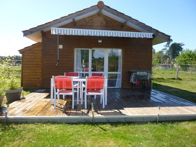 Photo for Chalet 4 people with shared pool