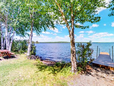 Photo for Dog-friendly, waterfront home w/ full kitchen & private dock
