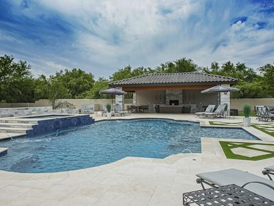 Photo for Heated Pool! 2 Homes in 1. Sleeps 20! Rated 5 Stars