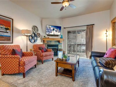Photo for TOP FLOOR - Summer Pool - Hot Tub- Fire Pit- Hiking/Biking Trails - Clubhouse - FREE SHUTTLE