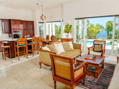 Photo for Picture Perfect: Beachfront Villa with Pool & Hot Tub + Rooftop Sundeck
