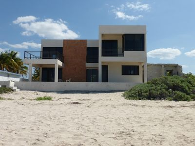 Photo for Spacious two-story home on the Gulf of Mexico near Merida