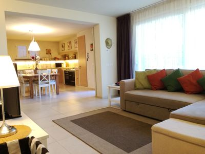 Photo for IL GLICINE DI LUCCA very close to the center, private parking, garden, bicycles, free Wi-Fi