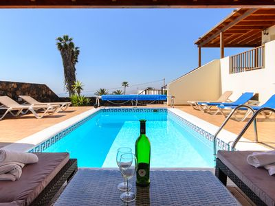 Photo for Modern Villa With Incredible Ocean Views, Private Pool, Spacious Terrace and Wi-Fi