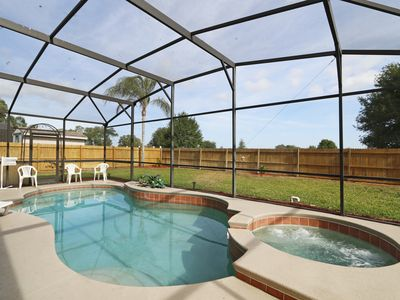 Photo for Fabulous Private Yard With Pool And Hot Tub Only 7 Miles To Disney