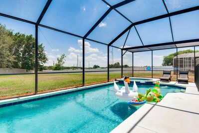 Float Your Worries Away In Your Private Pool