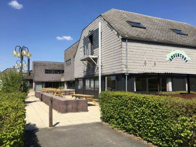 Accommodation for 56 persons set in the main building of the holiday village l'Espinette.