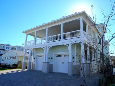 Photo for Great ocean views and only steps to the beach.  Parking for 2