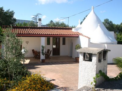 Photo for Beautifully restored Trulli with private 10x5 Metre Pool, Air-con and Wi-fi