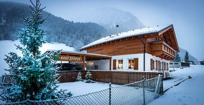 Photo for Superb detached 10 person chalet Haus Servus, Klösterle am Arlberg