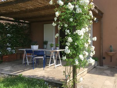 Photo for Lovely house between Bolgheri and Bibbona, surrounded by nature in Tuscany, wifi and A. C