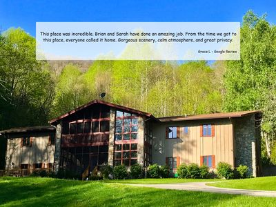 Photo for The Hive Lodge - Secluded Family Lodge in the Smokies