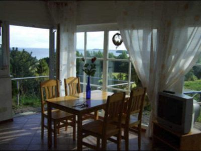 Photo for 2 room apartment in size m. Fireplace - Villa Ruden views Apartment with sea views