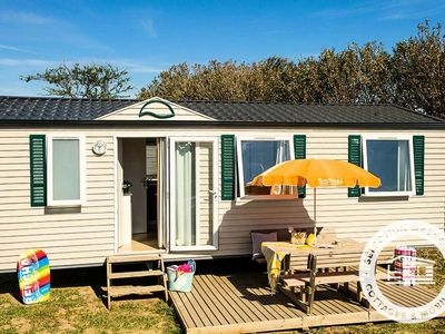 Photo for Camping Les Vignes ***** - Maeva Camping - Mobile Home Relax 4 Rooms 6 people