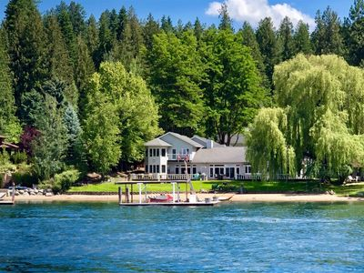 Photo for Luxurious Hayden Lake Water Front Vacation Rental